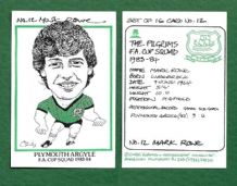 Plymouth Argyle Mark Rowe 12